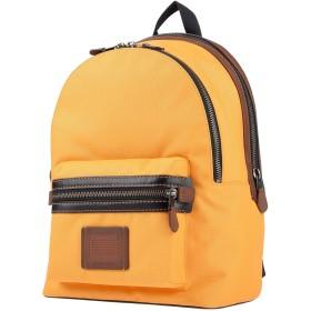 《期間限定セール開催中!》COACH メンズ バックパック&ヒップバッグ オレンジ 紡績繊維 / 革
