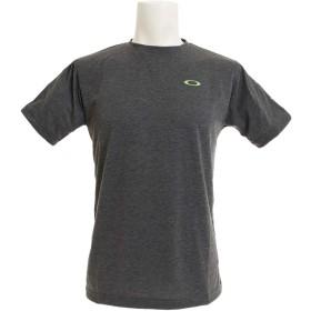 [オークリー] Tシャツ ENHANCE SMALL QD SS TEE メンズ DARK GREY HTHR US M (日本サイズL相当)