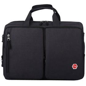 (ネルロッソ) NERLosso スクエア リュックサック スクエアリュック 2way 3way メンズ バックパック 鞄 かばん 通勤 通学 仕事 ビジネス ミリタリー アウトドア カジュアル 多機能 ブラック cmo24548-bl