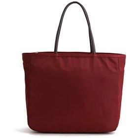 ートバッグ レディースバッグ大容量 バッグ ショルダー バッグ (Deep Red)