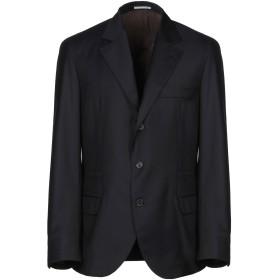 《期間限定セール開催中!》BRUNELLO CUCINELLI メンズ テーラードジャケット ダークブルー 56 バージンウール 100%