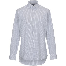 《セール開催中》MIRCAM メンズ シャツ ホワイト 40 コットン 100%