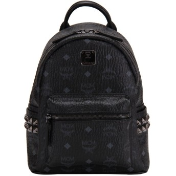 MCM [ エムシーエム ] Stark スターク Backpack Mini バックパックミニ ブラック MMK3AVE41BK001 [並行輸入品]