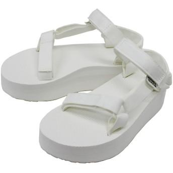 [テバ] FLATFORM UNIVERSAL/フラットフォームユニバーサル 1008844 スポーツサンダル/厚底/靴/ウィメンズ/レディース Bright white:6(23.0cm) [並行輸入品]