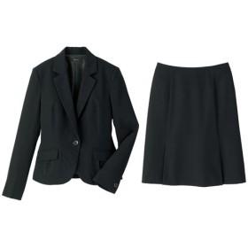 40%OFF【レディース】 スカートスーツ - セシール ■カラー:ブラック ■サイズ:5号(プチサイズ),7号,15号,11号,9号,13号