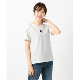 (anyFAM/エニィファム)【洗える】OYAKO-DEディズニーコレクション Tシャツ/レディース ホワイト系