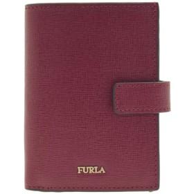 (フルラ) FURLA 財布 折財布 二つ折り ミニ コンパクト バビロン BABYLON S BI-FOLD レザー BABYLON S BI-FOLD PAO1 (チェリーレッドマルチ) [並行輸入品]