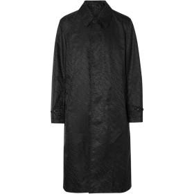 Burberry ジャカード コート - ブラック