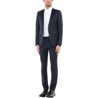 《セール開催中》MASSIMO REBECCHI メンズ スーツ ダークブルー 52 ウール 80% / 指定外繊維 10% / ナイロン 10%