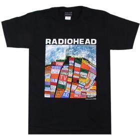 バンドTシャツ ロックTシャツ Radiohead レディオヘッド Mサイズ 黒色