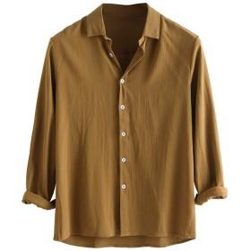 Tシャツ メンズ ロング丈 Joielmal ゆったり ボーダー しっかり カットソー Tシャツ 抜け感