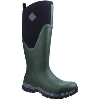 [Muck Boots] (マックブーツ) レディース アークティック スポーツ トール プルオン ウェリントンブーツ 長靴 レインブーツ 男女兼用 (5 UK) (グリーン)