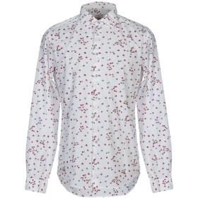 《期間限定セール開催中!》SALI & TABACCHI メンズ シャツ ホワイト 41 コットン 100%