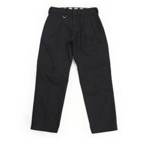 【Super Sports XEBIO & mall店:パンツ】リラックス タックパンツ 174M40WD04-BK