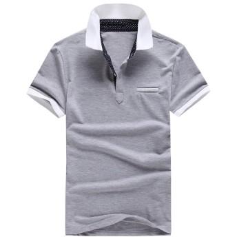 Heaven Days(ヘブンデイズ) ポロシャツ ゴルフウェア ゴルフシャツ 半袖 メンズ 1708F0129
