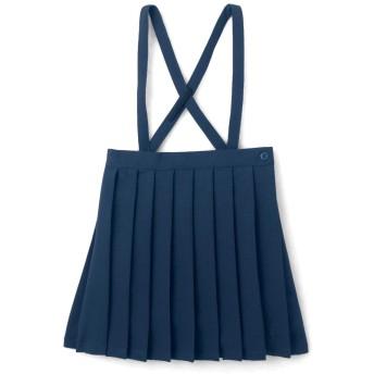 [ベルメゾン] プリーツスカート スクールスカート 制服 無地 通園 通学 ネイビー サイズ:120
