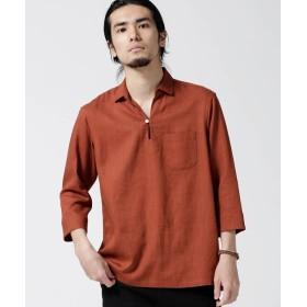 リネンレーヨンスキッパーシャツ 7S 5000円以上送料無料【公式/ナノ・ユニバース】