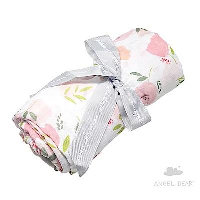 美國 Angel Dear 竹纖維嬰幼兒包巾禮盒 (荷蘭鬱金香)