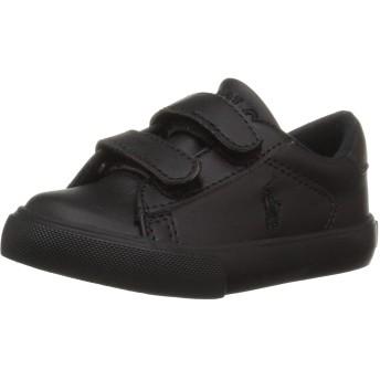 [ポロラルフローレン] ベビー・ガールズ ユニセックス・キッズ EASTON EZ US サイズ: 8 Medium US Toddler カラー: ブラック