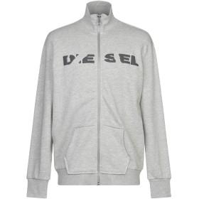 《期間限定 セール開催中》DIESEL メンズ スウェットシャツ ライトグレー S コットン 56% / ポリエステル 44%
