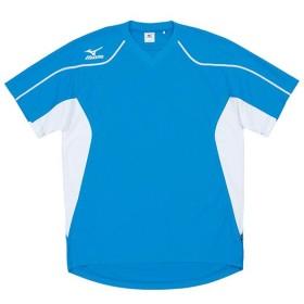 MIZUNO SHOP [ミズノ公式オンラインショップ] ゲームシャツ(ジュニア/サッカー) 18 D.サックス 62HJ201