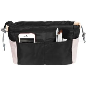 JOQIXON 配色の設計 Bag In Bag バッグインバッグ インナーバッグ 人気 バックインバック 軽量 インナーバッグ 自立 レディース バッグの整理整頓