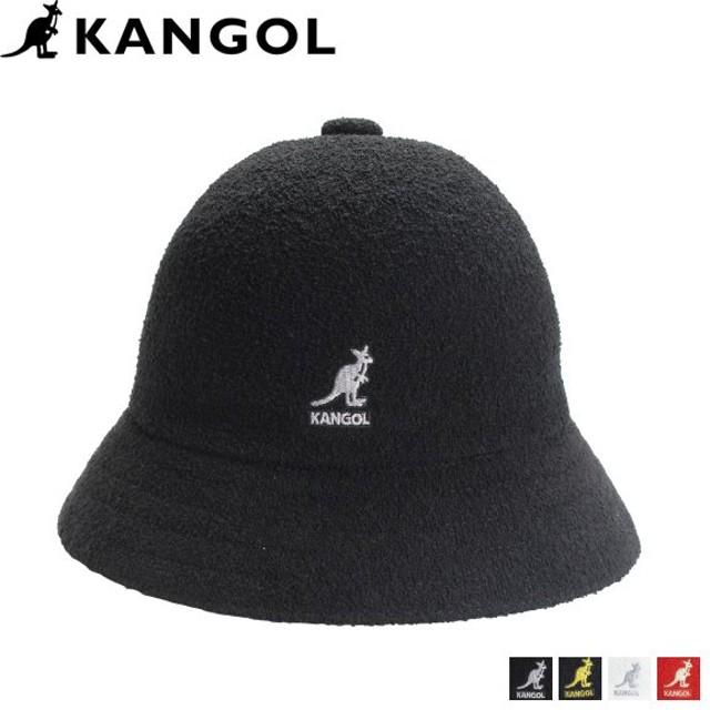 カンゴール KANGOL ハット キャップ 帽子 バケットハット メンズ レディース BERMUDA CASUAL ブラック ホワイト レッド 黒 白 195169015