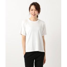 自由区 オーガニックコットンTシャツ(検索番号M52) レディース ホワイト 40 【JIYU-KU】