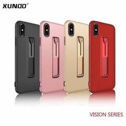 XUNDD 維尚系列 iPhone 8 PLUS 5.5吋 碳纖維保護軟殼