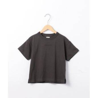 (coen/コーエン)【ハッピープライス】WEEKENDチビロゴTシャツ/レディース BLACK
