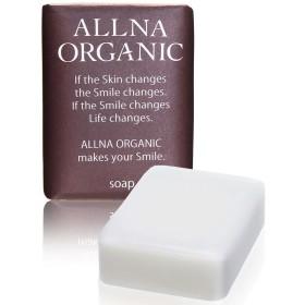 オルナ オーガニック 石鹸 「 無添加 敏感 肌用 毛穴 対策 洗顔石鹸 」「 コラーゲン 3種 + ヒアルロン酸 4種 + ビタミンC 4種 + セラミド 配合」 保湿 固形 洗顔 せっけん バスサ