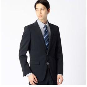【COMME CA MEN:スーツ・ネクタイ】ポリスト小紋ドビーセットアップジャケット