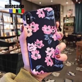 スマホケース   iPhone8 iPhone X ケース iPhone7 iphone se フラワー デザイン
