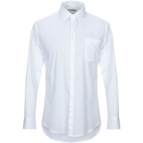 《期間限定 セール開催中》DANIELE ALESSANDRINI メンズ シャツ ホワイト 40 コットン 97% / ポリウレタン 3%