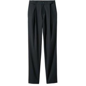 アジャスター付9分丈テーパードパンツ(ゆったりヒップ)(股下60cm) (大きいサイズレディース)パンツ,plus size