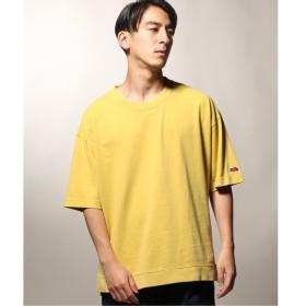 [マルイ] メンズTシャツ(FRUIT OF THE LOOM×relume / 別注 ピグメントダイ SLIT Tシャツ)/ジャーナルスタンダード レリューム(メンズ)(JOURNAL STANDARD relume)