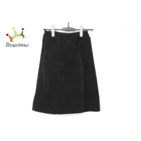 フォクシーニューヨーク FOXEY NEW YORK スカート サイズ38 M レディース 黒   スペシャル特価 20191008