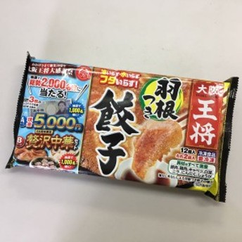 大阪王将 羽根つき餃子 ギョーザ ぎょうざ 12個入 たれ2袋入