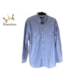 カネコイサオ KANEKO ISAO 長袖シャツ メンズ ブルー×黒×マルチ 刺繍   スペシャル特価 20190916