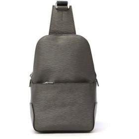 (GALLERIA/ギャレリア)アニアリ aniary ボディバッグ ウェーブレザー Body Bag Wave Leather レザー 本革 16-07000/ユニセックス グレー