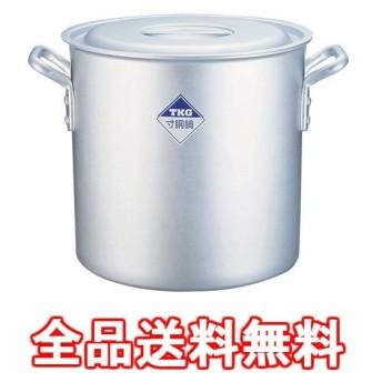 寸胴鍋 アルミニウム(アルマイト加工) (目盛付)TKG 30cm ※ ガス火専用 AZV6330