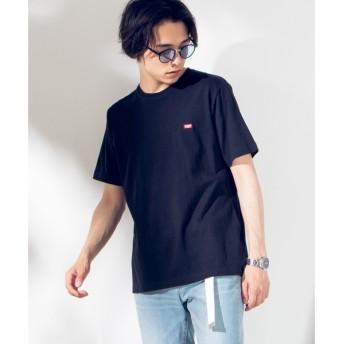 [マルイ]【セール】ワンポイントボックス刺繍ロゴTシャツ/ウィゴー(メンズ)(WEGO)