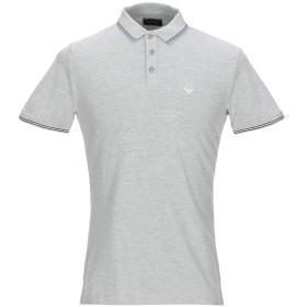 《期間限定セール開催中!》ARMANI JEANS メンズ ポロシャツ グレー XS コットン 95% / ポリウレタン 5%