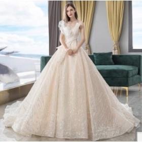 ウエディングドレス/ロングドレス/パーティードレス/披露宴ドレス/結婚式/二次会/花嫁/超可愛い/人気新品 WS-619
