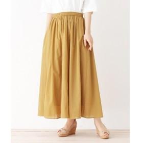 3can4on / サンカンシオン ボイルカラーギャザースカート