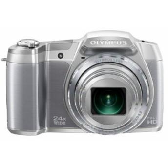 OLYMPUS デジタルカメラ STYLUS SZ-16 1600万画素CMOS 光学24倍ズーム 広角(中古品)