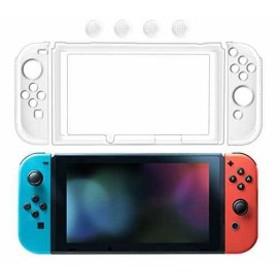 新品 SNNC-JP Nintendo Switch カバー PCケース 本体+Joy-Con ニンテンドースイッチ 任天堂 ハードケース 高透明 キズ防止 クリアスタイ