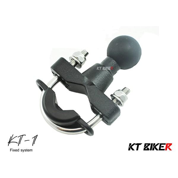 【KT BIKER】 KT-1 手機架 U型球體 (單售) 摩托車 機車 支架 手機架 〔KTP107〕