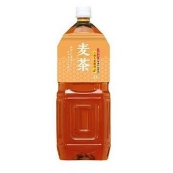 ds-1480730 【まとめ買い】桂香園 麦茶 2L×60本(6本×10ケース)ペットボトル【国内六条大麦を使用】 (ds1480730)