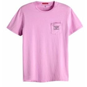 メール便OK スコッチ&ソーダ Tシャツ SCOTCH&SODA Garment Dyed T-Shirt ラベンダー 292-74409 メンズ トップス 半